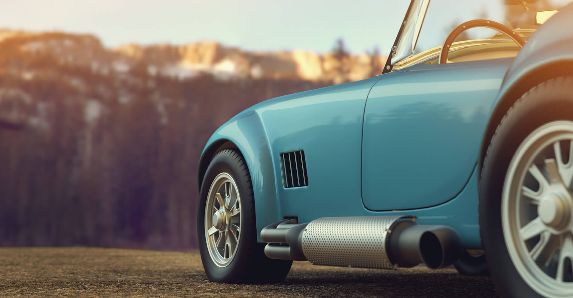 Sextons - Classic Car Banner